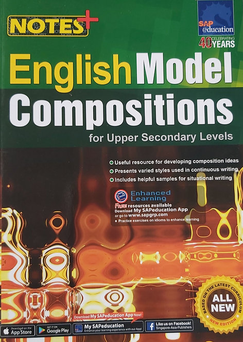 Notes + English Model Compositions For Upper Secondary Lvl