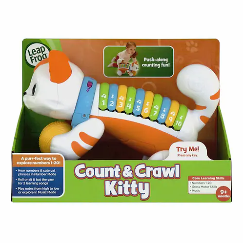 Count & Crawl Number Kitty