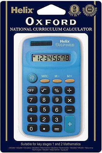Calculatrice Helix Basic Bleu