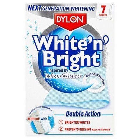 Dylon White & Bright 7 Sheets