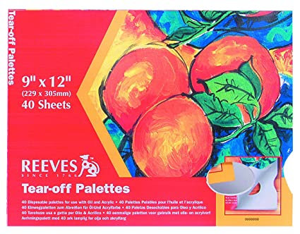 Reeves 9x12 Tear off palette
