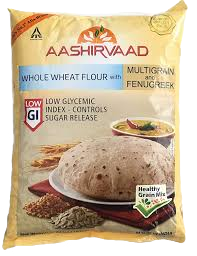 Aashirvaad Whole Wheat Multigrain & Fenugreek 2Kg