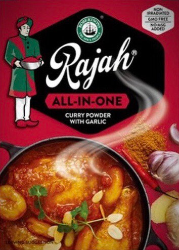 Rajah Curry Powder- All In One