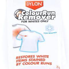 Dylon Colour Run Remover For Whites only 25g