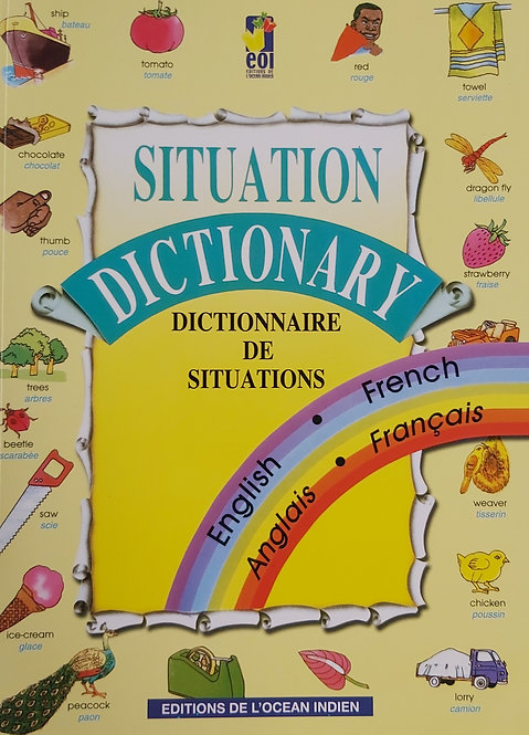 Situation Dictionary/Dictionnaire De Situation