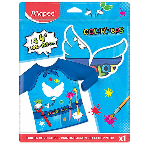 Maped Super Heros Painting Apron Bag