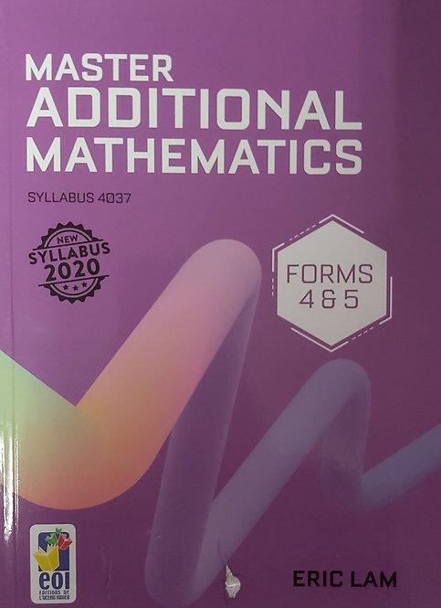 Master Additional Maths Grade 10 & Grade 11