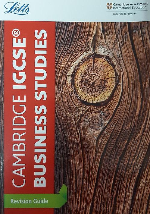 Letts-Igcse Business Studies Revision Guide
