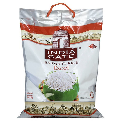 India Gate Excel 1121 Extra Long Basmati Rice 10lbs/4.5kg