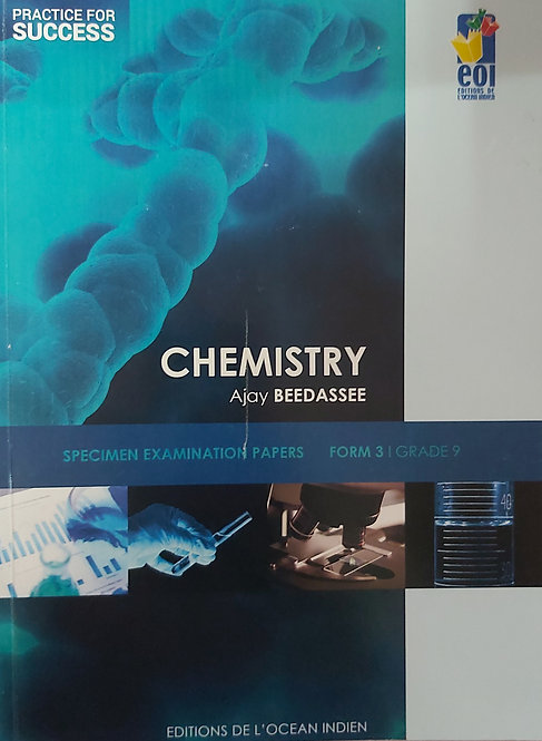 Practice For Success Chemistry Form 3 /Grade 9