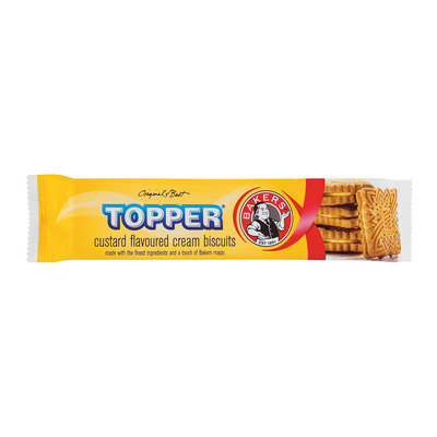 Bakers Topper Custard 125g