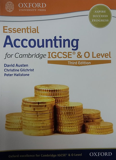 Essential Accounting For O Level 3rd Edition