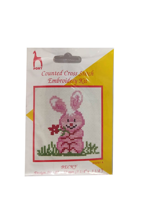 Counted Cross Stitch Embroidery Kit