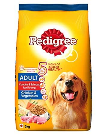 Pedigree Adult Chicken & Veg 3Kg