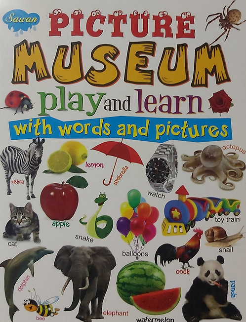 Picture Museum Play And Learn With Words & Picture