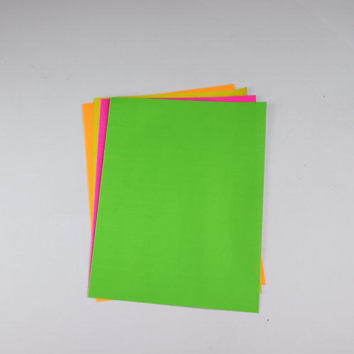 Bristol Paper 250g A4 Fluo (Pack Of 10)