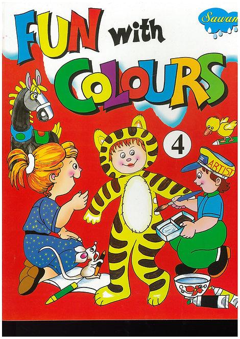 Fun With Colours4 - Manoj Pub. Ed. Board