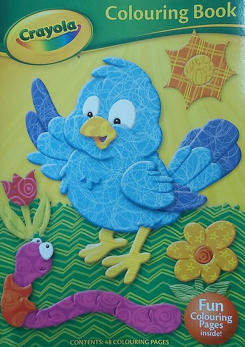 Crayola- Colouring Book Bird