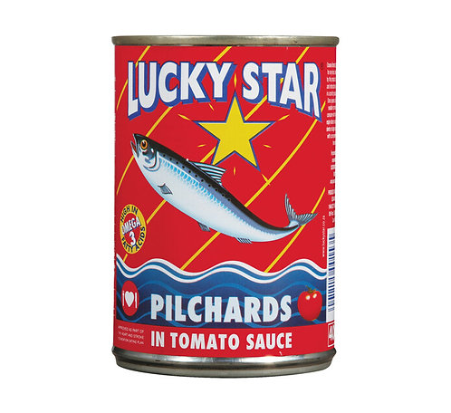 Lucky Star Pilchards In Tomato Sauce 425g