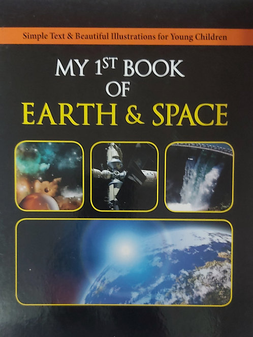 My First Book of Earth And Space
