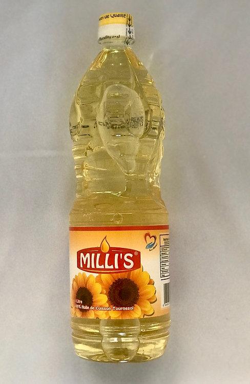 Milli's Vegetable oil Plastic bottle (1L)