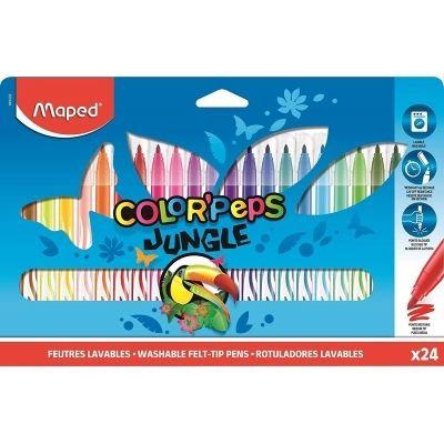 Maped Feutre Color Peps Jungle x24