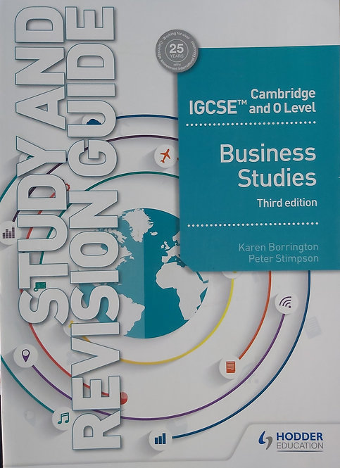 Cambridge Igcse And O Level Business Studies Study And Revision Guide - 3Rd Ed
