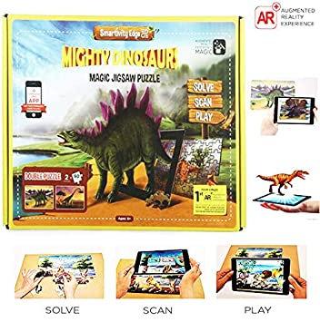 Mighty Dinosaurs Magic Jigsaw Puzzle