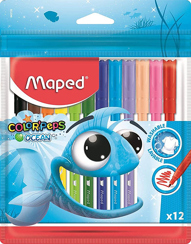 Maped Feutre Color Peps Ocean x12