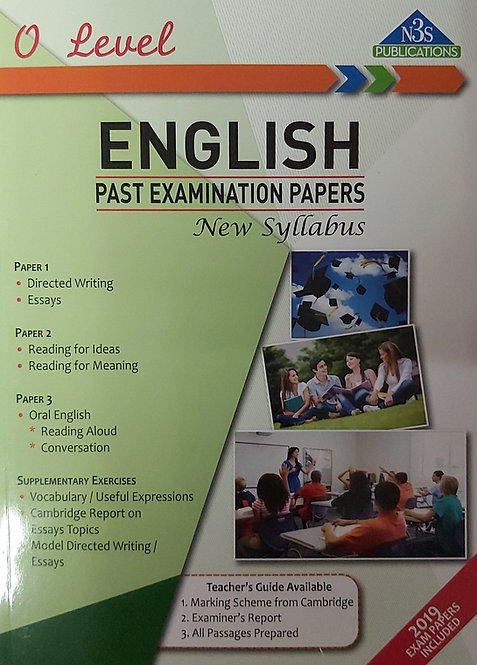 N3S O Level English Past Examination Papers 2019