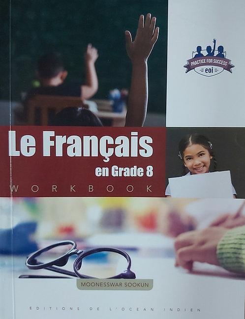 Le Francais En Grade 8 Workbook