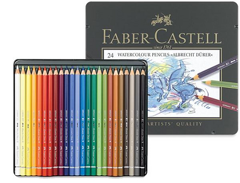 Faber Castel 24 Watercolor Pencils A.Durer