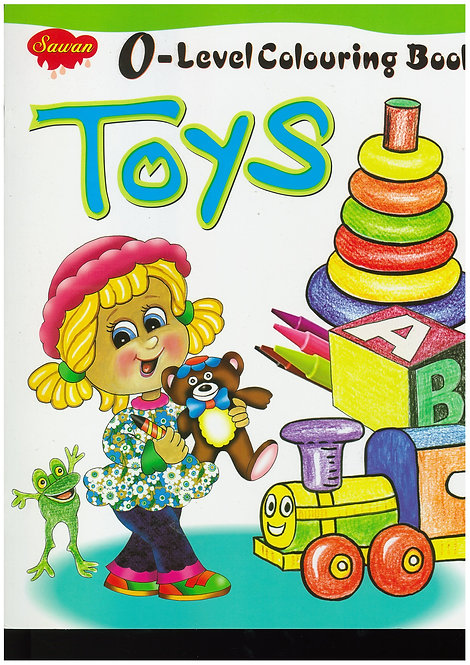 O-Level Colouring Bk - Toys