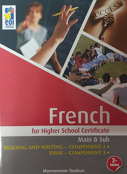 French For Higher School Certificate P2-3 2Nd Ed