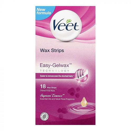 Veet Wax Strips Supreme Essence