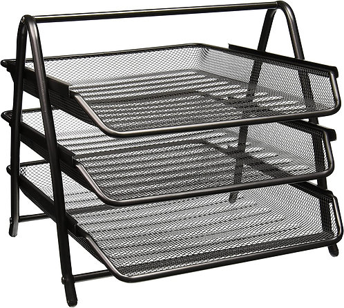 Document Tray Mesh 3-tier