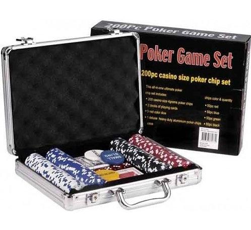 Poker Chips Set of 200pcs