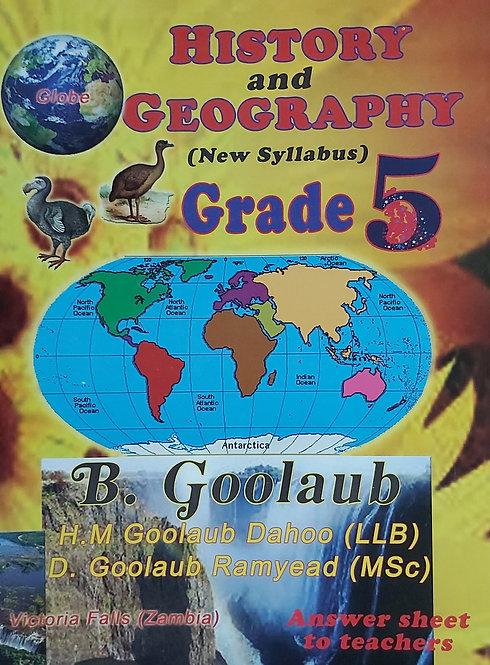 History & Geo Grade 5