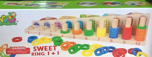 Sweet Ring 1+1 Counting Game