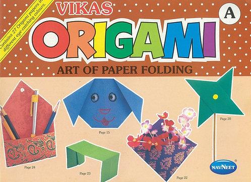 Vikas Orgami Art Of Paper Folding A -K0291