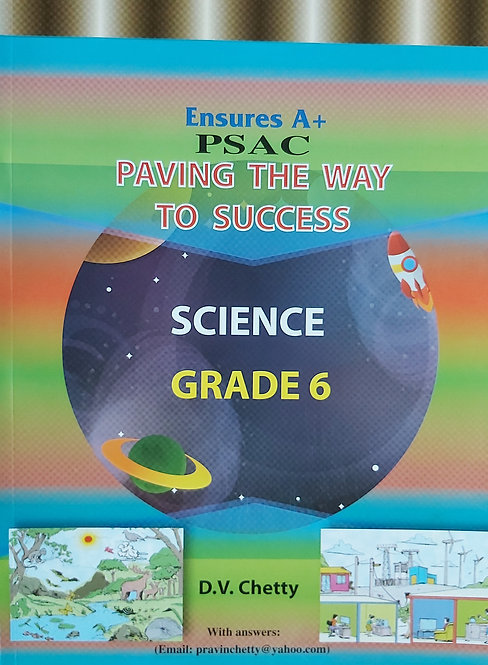 Ensures A+ Science Grade 6  Paving The Way To Success