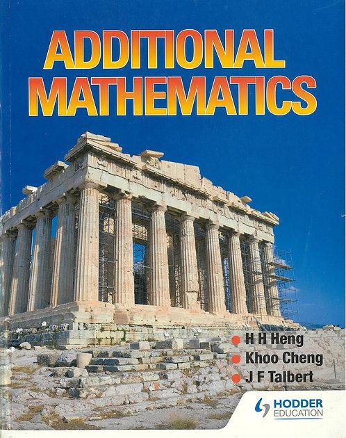 Hodder - Additional Mathematics