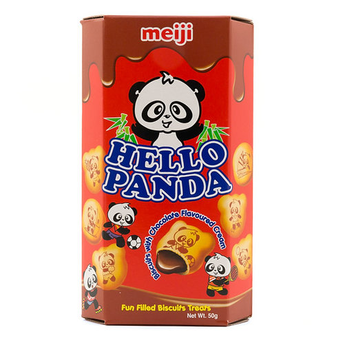 Meiji Hello Panda Chocolate Cream 50g