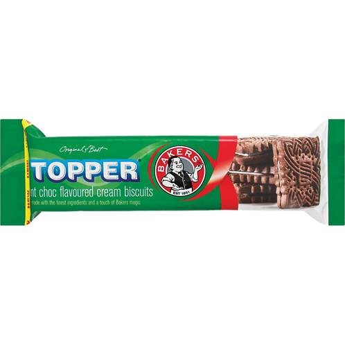 Bakers Topper Mint 125g