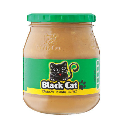 Black Cat Crunch Peanut Butter 400g