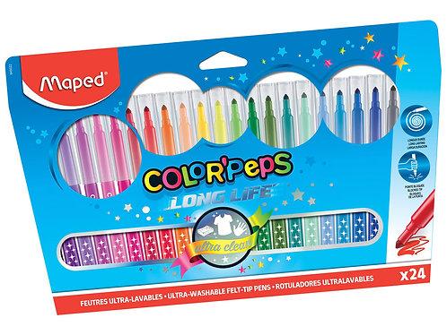 Maped Feutres Color Peps Life (x 24)
