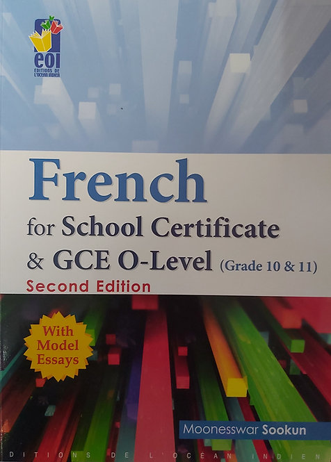 French For School Certificate & Gce O-Level 2Nd Ed
