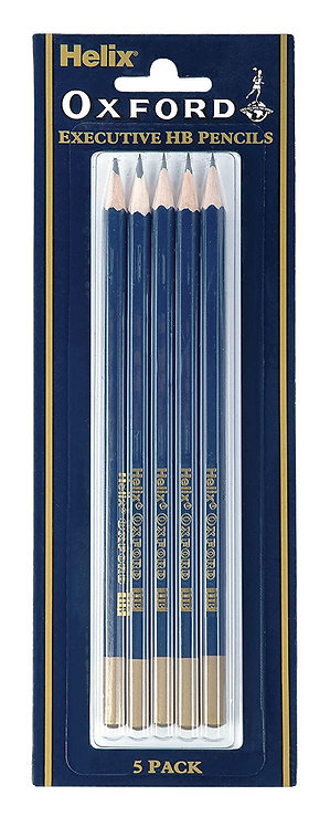 Oxford Pencil Hb (pack of 5)
