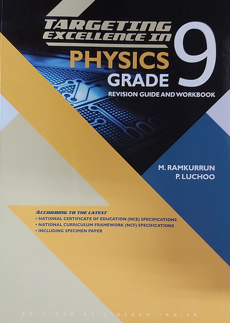 Targeting Excellence In Physics Grade 9
