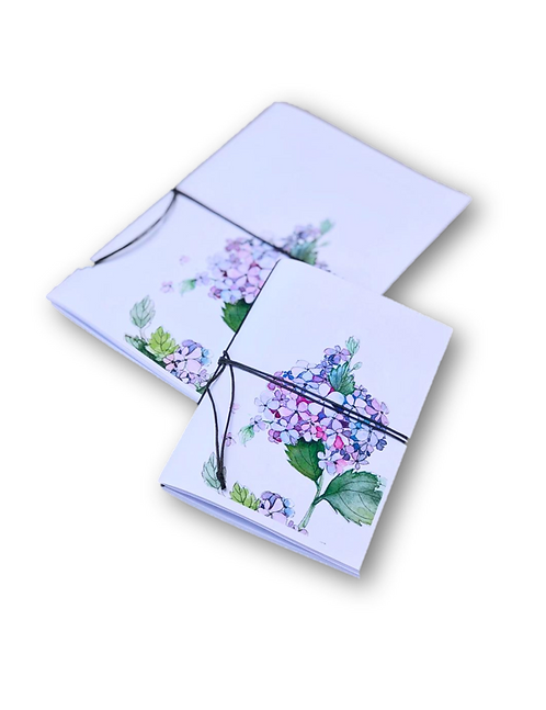 Notebook Hortensia 2 (A5 & A7)-80pages